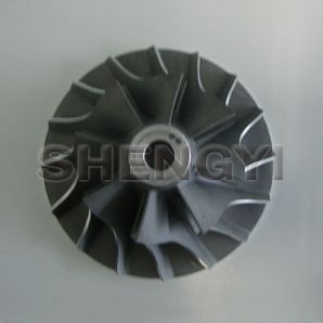 Benz compressor wheel
