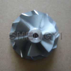 Turbo compressor wheel