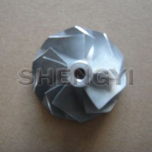 Turbocharger compressor wheel