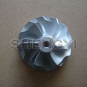 Compressor wheel for turbocharger