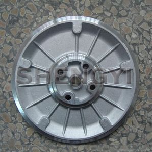 Back plates of turbocharger